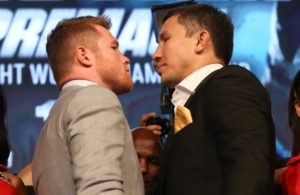 Golovkin - Canelo heat up New York. Photo: HBO.