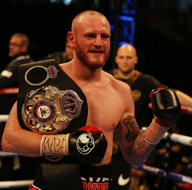 George Groves WBA Super Middleweight Super Champion