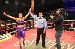 Esteche ready to defend her WBA crown in Argentina.