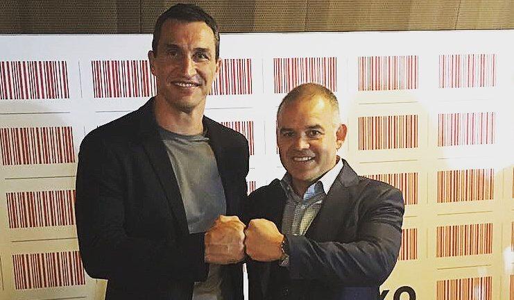 Best of luck, Wladimir Klitschko