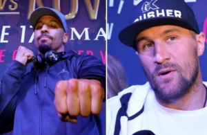 Ward y Kovalev arrived in Las Vegas for their rematch.