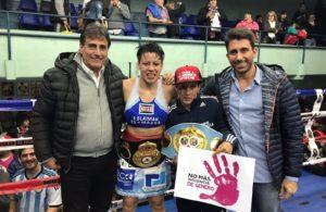 Esteche retuvo su título en Argentina.