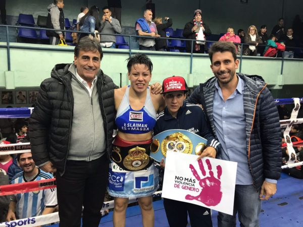 Esteche retains title in Argentina.