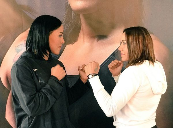 Braekhus and Farias ready for war
