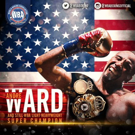 Ward retains WBA Super Championship.