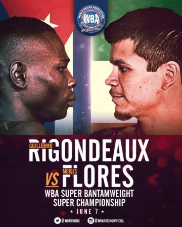WBA orders Rigondeaux-Flores Rematch