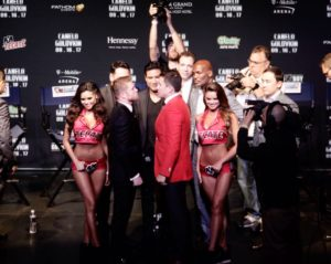 Golovkin and Canelo finished promotional tour in Los Angeles