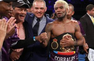 Corrales defendió su título AMB con éxito.