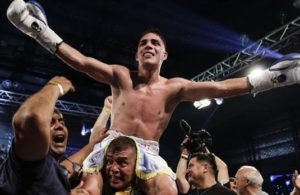 Castaño and Vitu will fight for the WBA belt this Saturday in France.