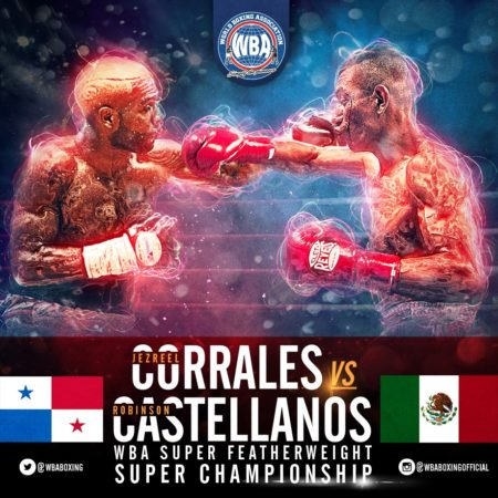 Corrales and Castellanos completed public workout in Inglewood