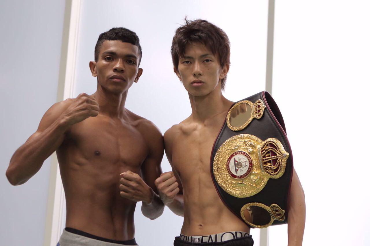 Taguchi y Barrera en peso para su pelea en Tokio
