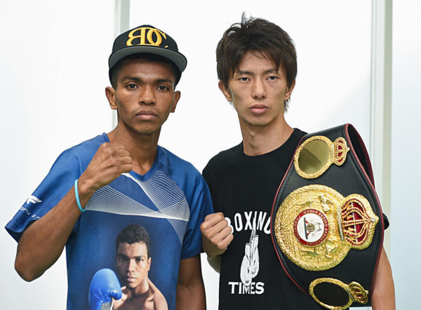 Taguchi and Barrera made weight for their fight in Tokyo