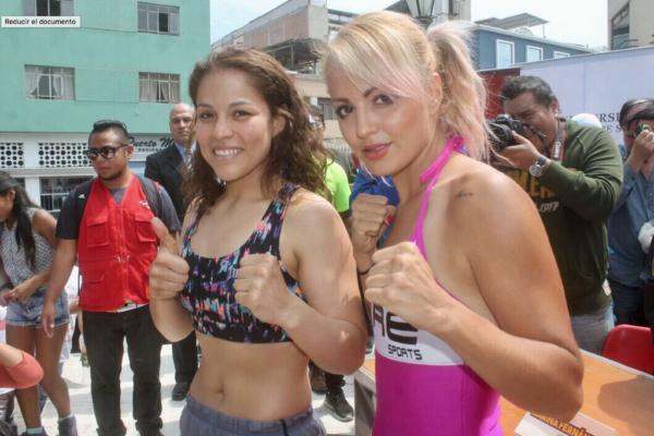 Lecca and Fernandez made weight in Peru