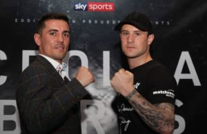 Crolla and Burns promise to shake up Manchester. Photo: Sky Sport.