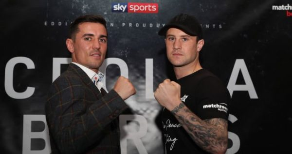 Crolla and Burns promise to shake up Manchester
