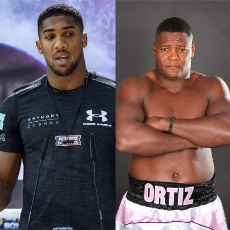 WBA orders Joshua-Ortiz.