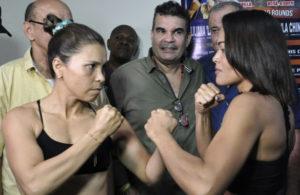 Palmera and Sánchez make weight in Barranquilla.