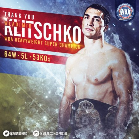 Wladimir Klitschko: The goodbye of a historic champion.