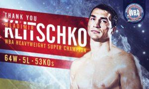 Wladimir Klitschko: The goodbye of a historic champion