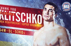 Wladimir Klitschko: The goodbye of a historic champion.