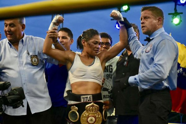 Alys Sanhez WBA Female Champion.