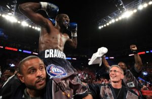 Terence Crawford elevated to WBA Super Champion.
