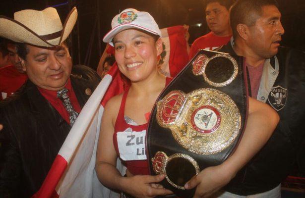 Linda Lecca retuvo su título AMB en Perú.