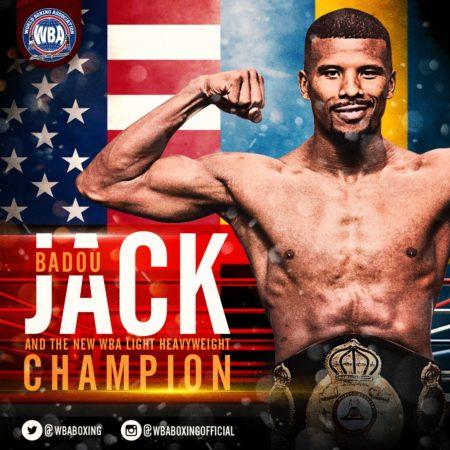 Badou Jack new WBA Champion.