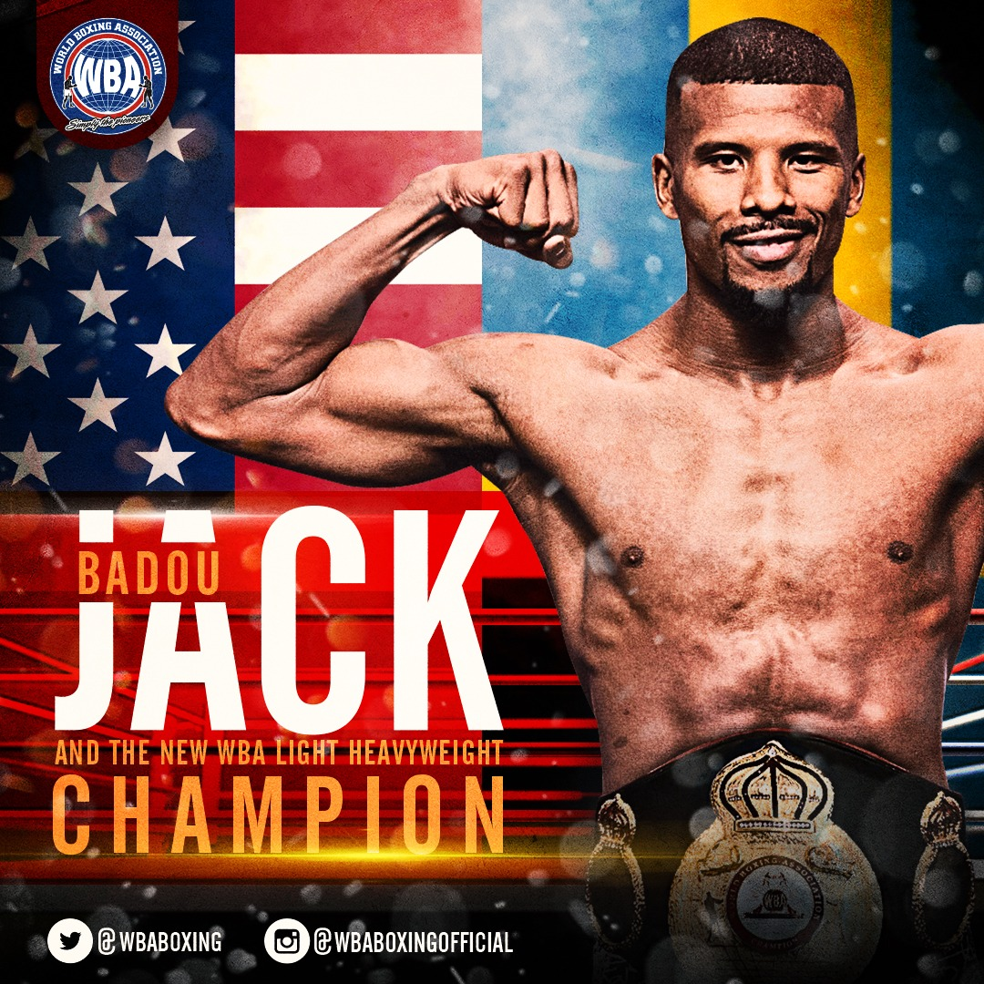 Badou Jack WBA Light Heavyweight Champion