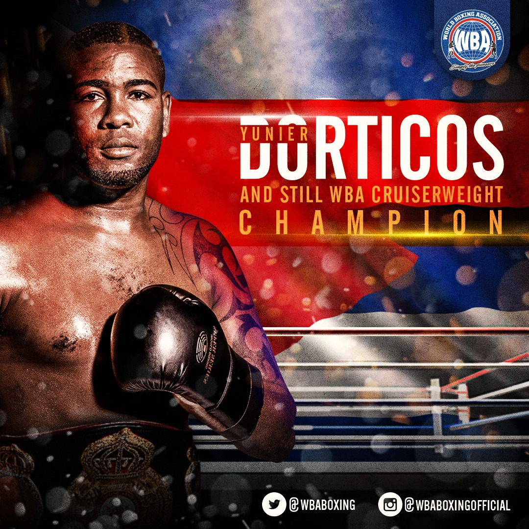 Dorticos retains his WBA Cruiserweight Belt