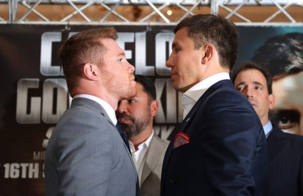 The world will freeze in September with the Golovkin-Canelo match