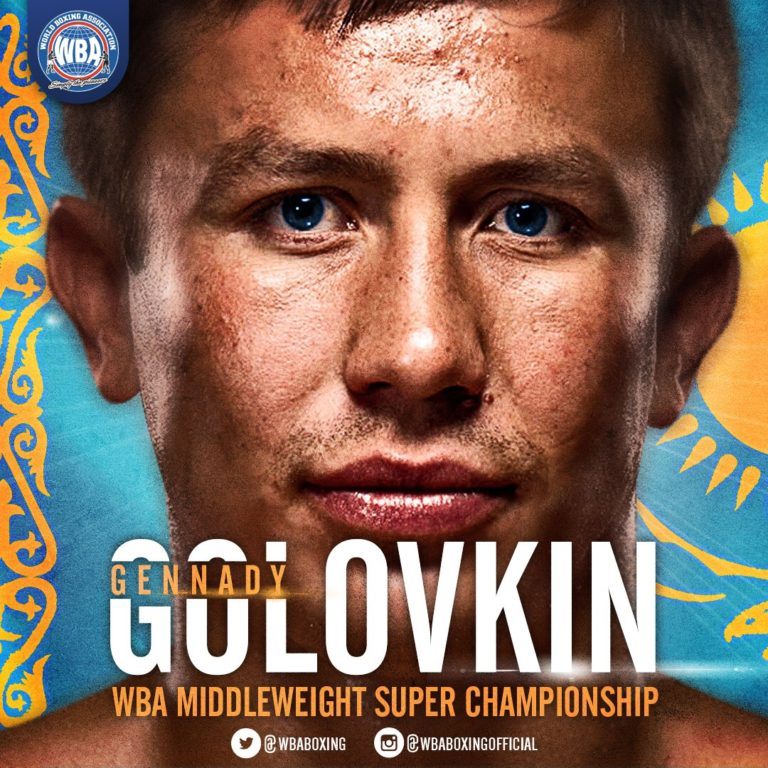 Golovkin: A Middleweight that makes history each day.