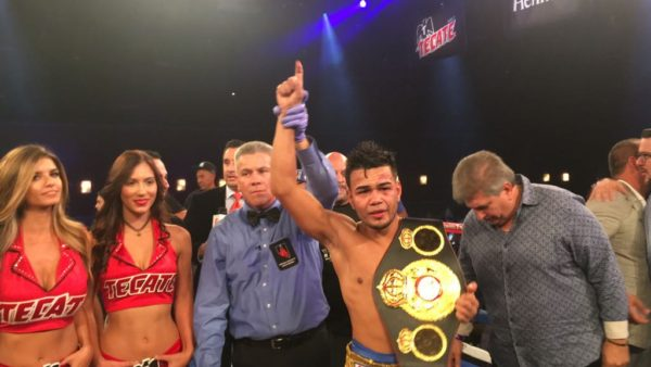 Jesús Rojas, new WBA Interim Featherweight Champion