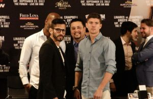 Linares and Campbell held final press conference.