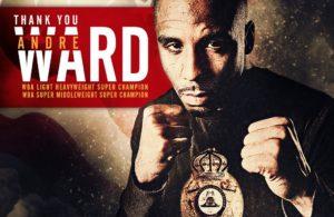 Andre Ward anuncia su retiro del boxeo