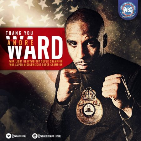 Andre Ward announces his retirement from Boxing