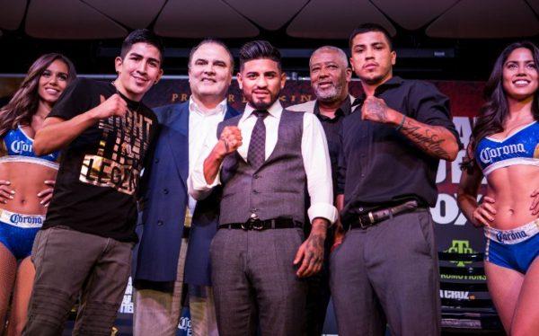 Mares and Santa Cruz held press conference in Los Angeles.