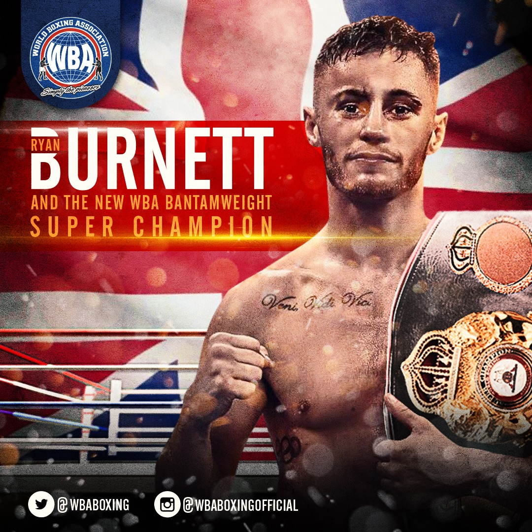 Burnett decisions Zhakiyanov to take the WBA title