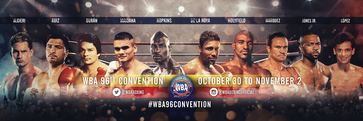 96th WBA Convention Medellin, Colombia 2017