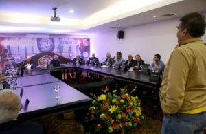 Reunión de Directorio AMB fue todo un éxito. Foto Edixon Gamez