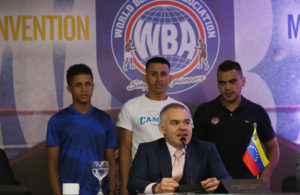 The WBA is committed to develop boxing in Medellin.