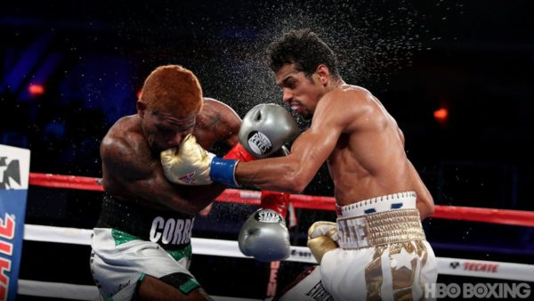 Machado stops Corrales to take the WBA title.