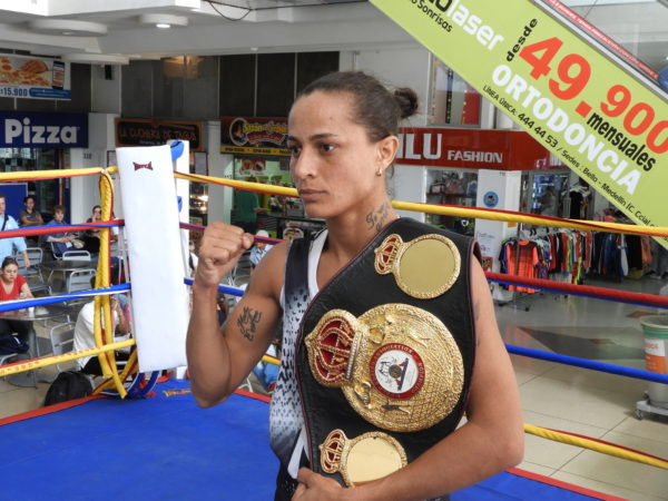 Dayana and Mayerlin Held open workout In Medellin