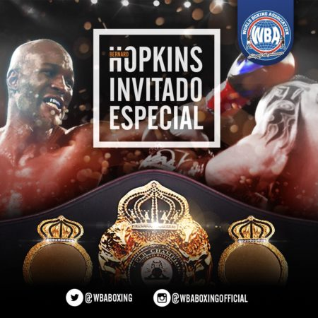 Bernard Hopkins will be in the WBA 96th Convention.