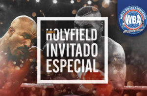 Evander Holyfieldwill be in the WBA 96th Convention