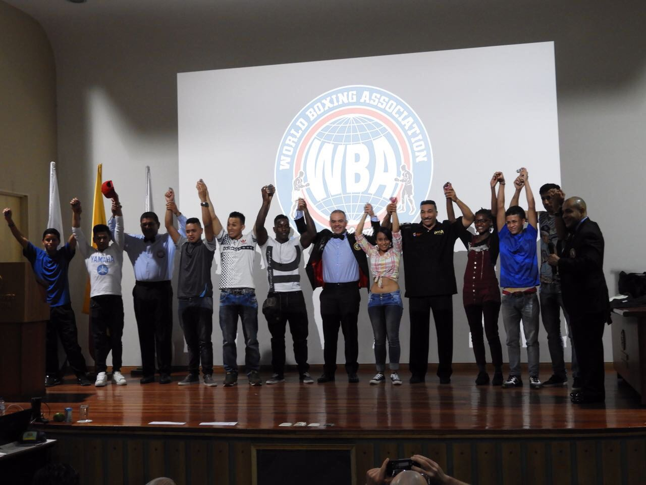 First day of WBA and INDEPORTES Antioquia Judges and Referees course was a big success!
