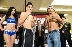 Santa Cruz, Mares, Avalos, Gutierrez all make weight.
