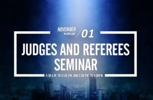 Judges & Referees Will Have A Seminar in Medellin.