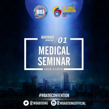 The WBA Medical Seminar Will Be Focused On Anti-Doping Issues