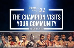 World Champions Will Visit The Commune.